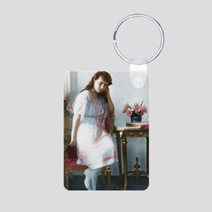 Grand Duchess Anastasia Ni Aluminum Photo Keychain