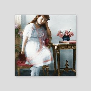 """Grand Duchess Anastasia Nik Square Sticker 3"""" x 3"""""""