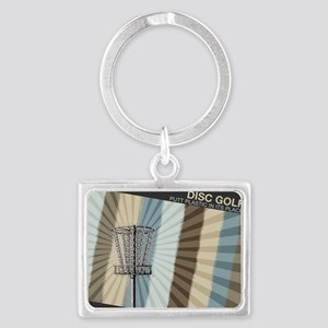 Putt Plastic In Its Place Landscape Keychain