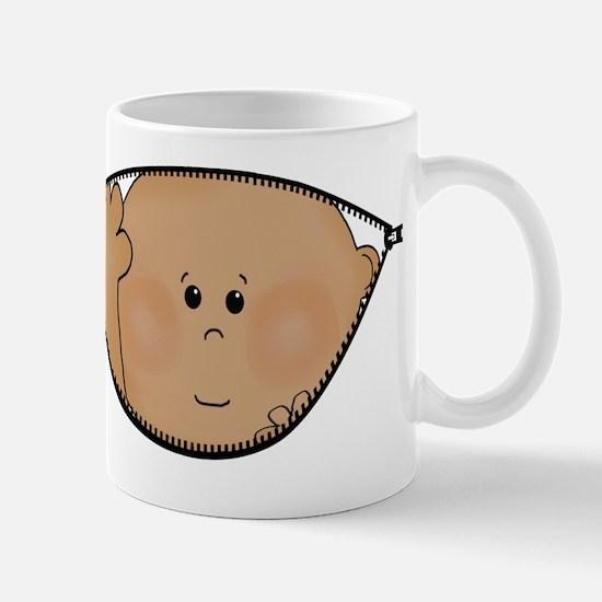 baby peeking AA Mug