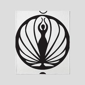 Kawakib logo Throw Blanket