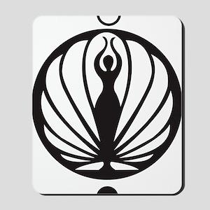 Kawakib logo Mousepad