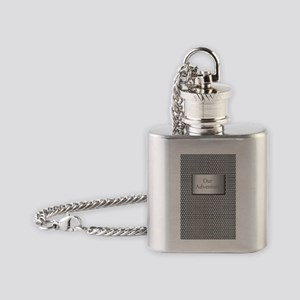 chainmail adventure journal Flask Necklace