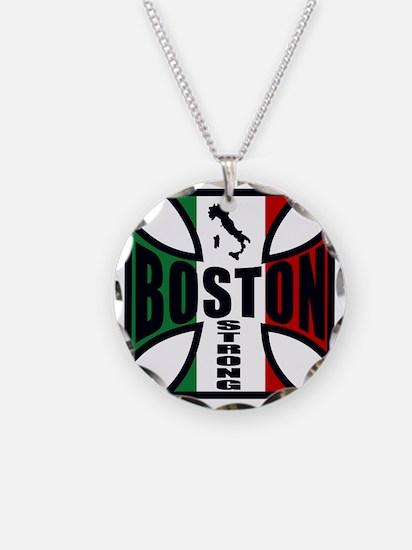 Italian Boston strong Necklace