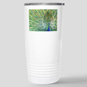 Peacock Stainless Steel Travel Mug