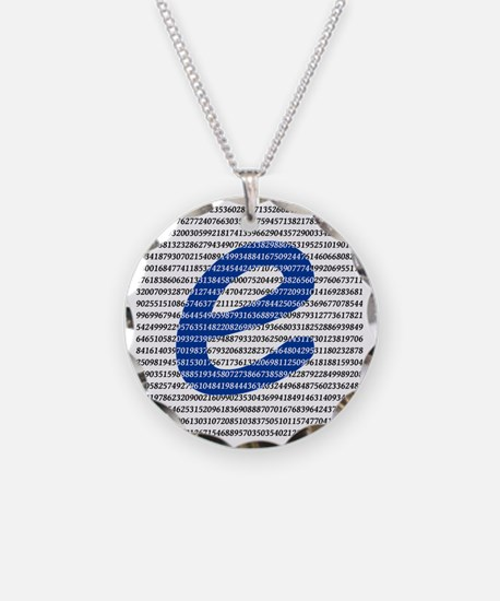 1000 Digits of e Necklace