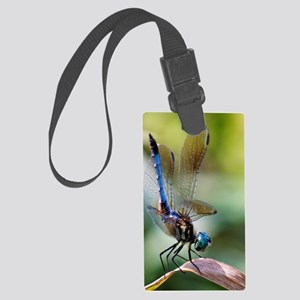 Beautiful Blue Dasher Skimmer Dr Large Luggage Tag