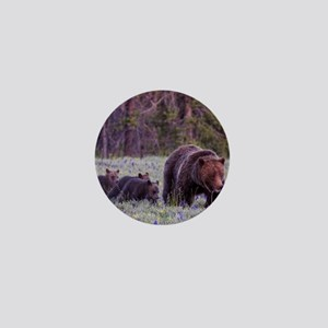 Grizzly Bear 399 Mini Button