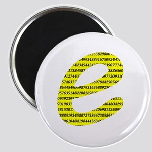 1000 Digits of e Magnet