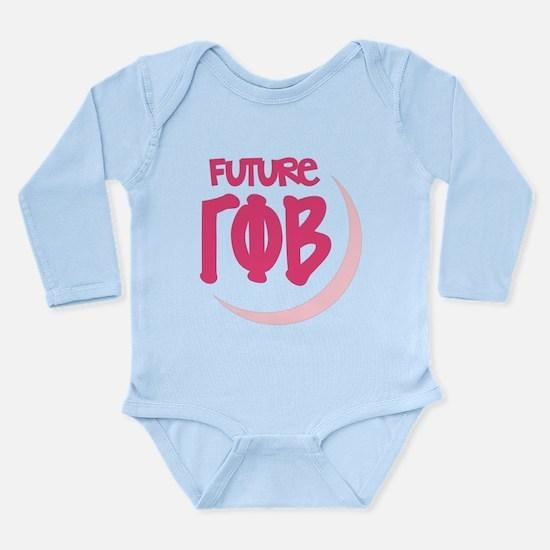 Gamma Phi Beta Future Long Sleeve Infant Bodysuit