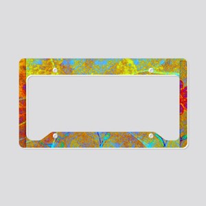Magical Carpet License Plate Holder