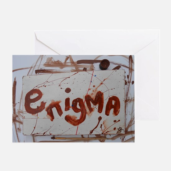 enigma Greeting Card