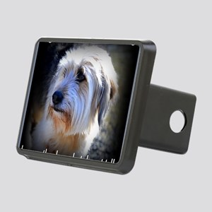 Dogs are better... Rectangular Hitch Cover