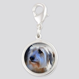 Dogs are better... Silver Round Charm