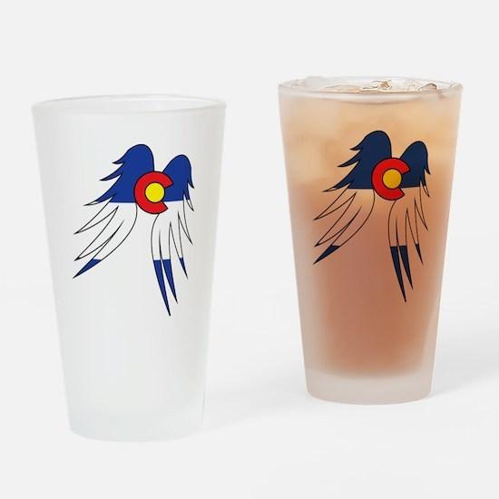 Colorado Wings Drinking Glass
