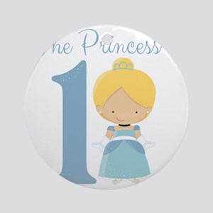 Princess is 1 Round Ornament