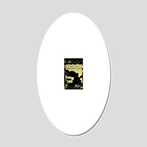 Rock the Flock 20x12 Oval Wall Decal