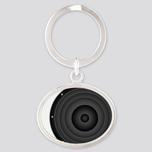 Speaker Oval Keychain