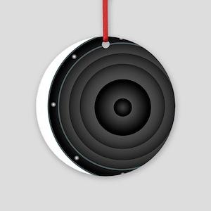 Speaker Round Ornament