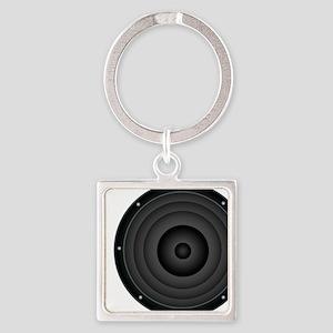 Speaker Square Keychain