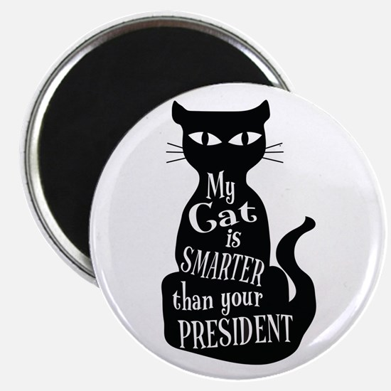 My Cat is Smarter than Your President Magnets