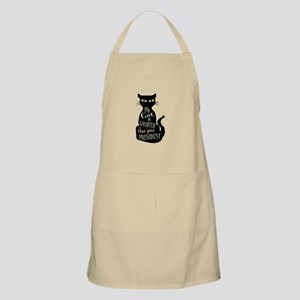 My Cat is Smarter than Your President Light Apron