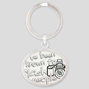 flashpeople Oval Keychain