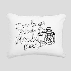 flashpeople Rectangular Canvas Pillow