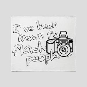 flashpeople Throw Blanket