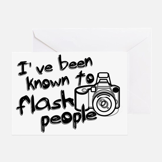 flashpeople Greeting Card