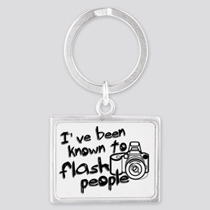 flashpeople Landscape Keychain