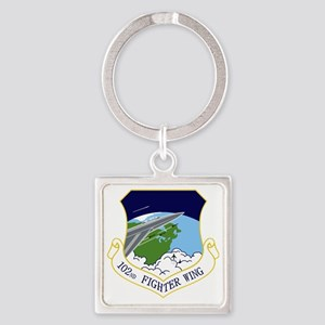 102nd FW Square Keychain