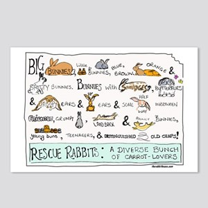 Rescue Rabbits Postcards (Package of 8)