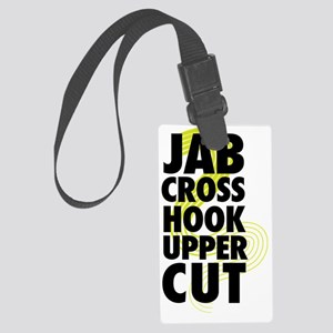 Jab Cross Hook Upper-cut Large Luggage Tag