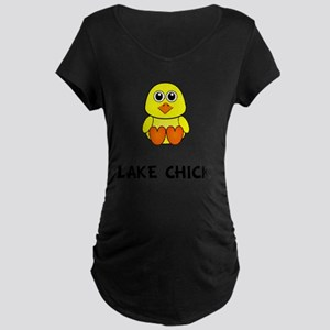 Lake Chick Maternity Dark T-Shirt