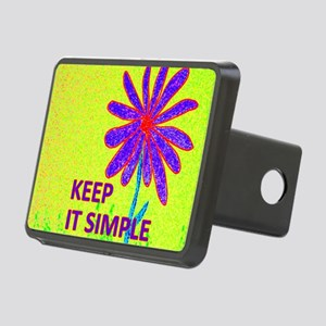 Wildflower Keep It Simple Rectangular Hitch Cover