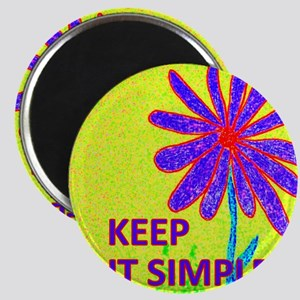 Wildflower Keep It Simple Magnet