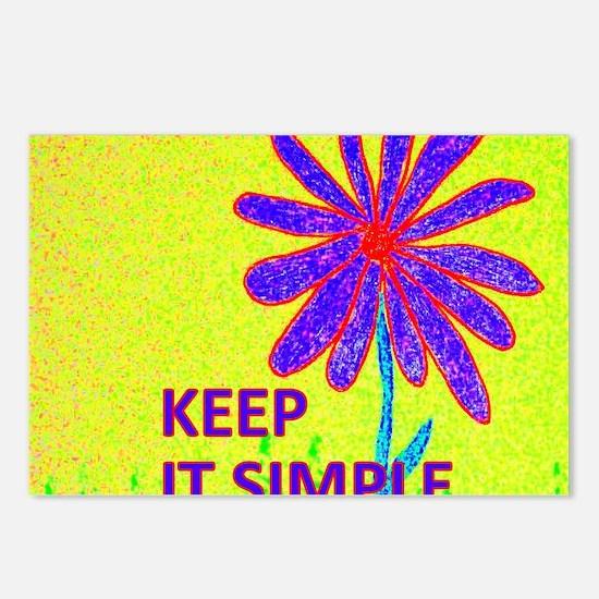 Wildflower Keep It Simple Postcards (Package of 8)