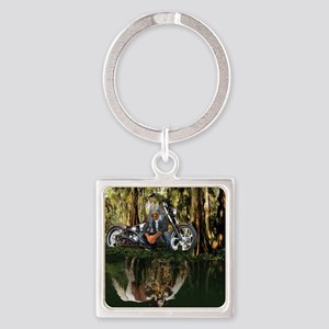 Native Reflections Square Keychain