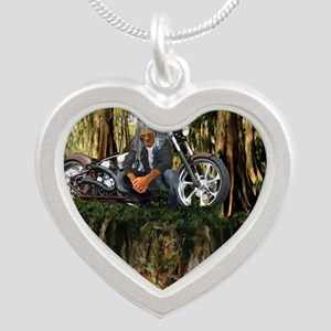 Native Reflections Silver Heart Necklace