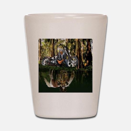 Native Reflections Shot Glass