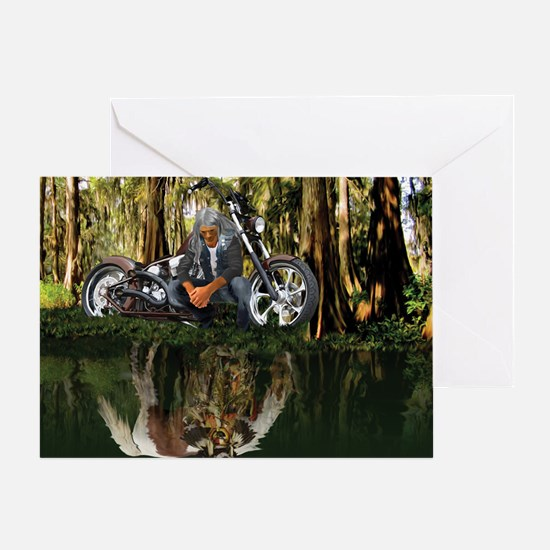 Native Reflections Greeting Card