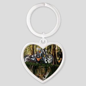Native Reflections Heart Keychain