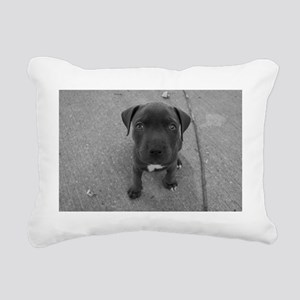 Puppy Love Rectangular Canvas Pillow