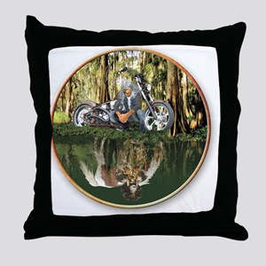 Native Reflections Throw Pillow