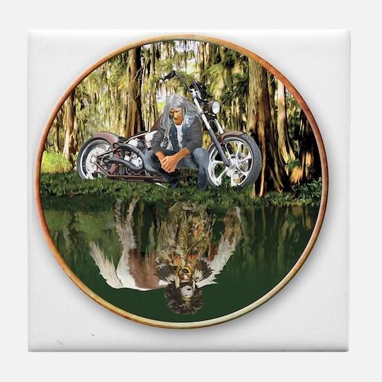Native Reflections Tile Coaster