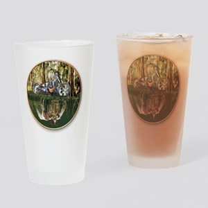 Native Reflections Drinking Glass