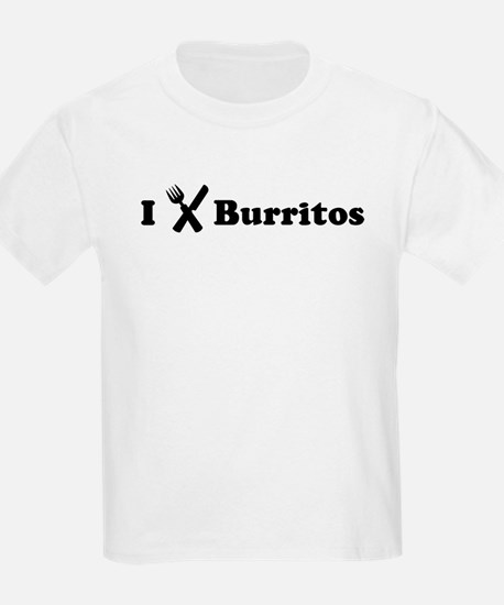 I Eat Burritos T-Shirt