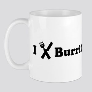 I Eat Burritos Mug