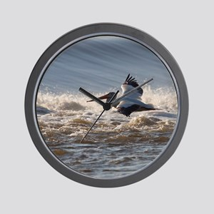 pelican 8x8 Wall Clock